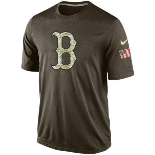 39b41866ad9 Men s Boston Red Sox Salute To Service Nike Dri-FIT T-Shirt