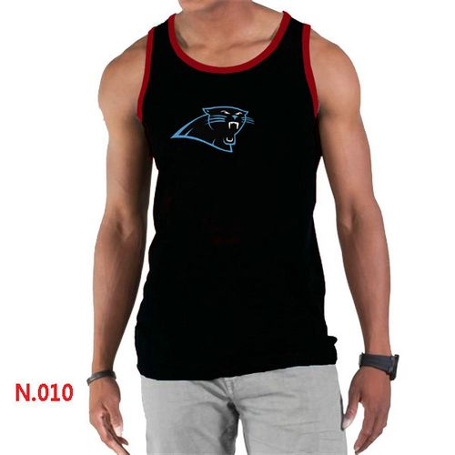 Men's Nike Carolina Panthers Blue Facility T Shirt  for cheap