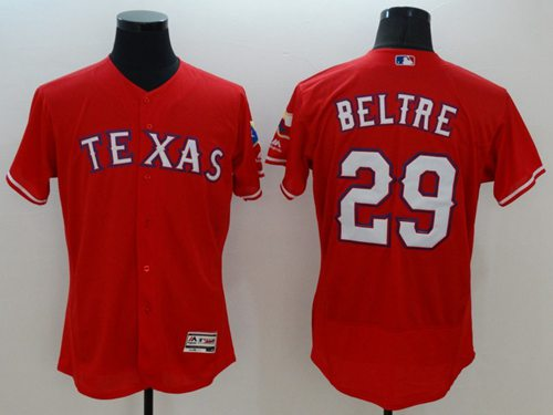 huge discount 5373d da6a9 Rangers #29 Adrian Beltre Red Flexbase Authentic Collection ...