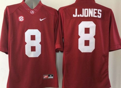 ab609ba02 where to buy crimson tide 8 julio jones red stitched ncaa jersey 38c22 ceaa6