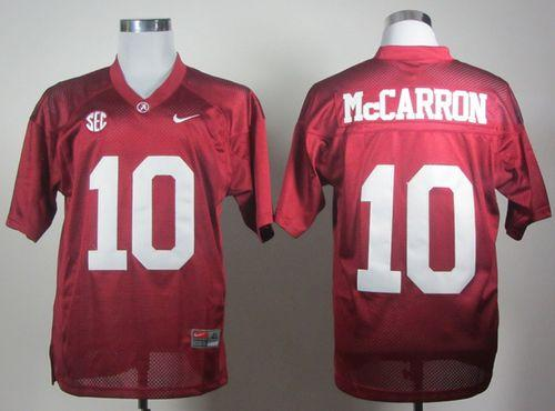 44dc6685b cheap nike sideline fuse cfp alabama fbd94 2f63b; switzerland crimson tide  10 aj mccarron red 2012 sec patch stitched ncaa jersey 5425e 417e0