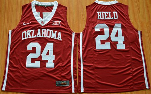 d6d892e1f Sooners  24 Buddy Hield Red Basketball New XII Stitched NCAA Jersey