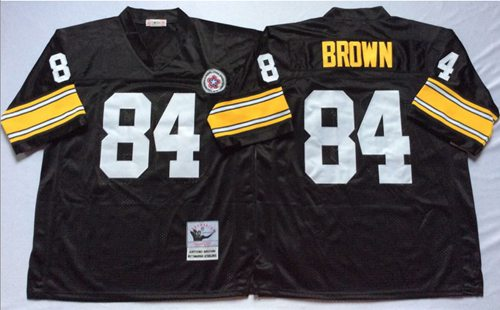 new york 86b22 0ea6e Mitchell & Ness Steelers #12 Terry Bradshaw White Stitched ...