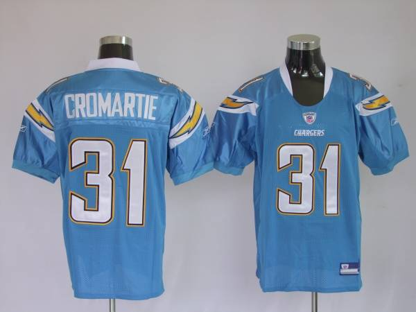 Chargers Antonio Cromartie #31 Stitched White NFL Jersey  hot sale