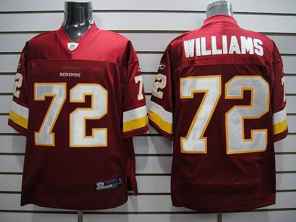 Nice Redskins #72 Doug Williams Stitched Red NFL Jersey  free shipping