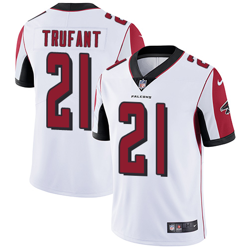 Cheap Nike Falcons #21 Desmond Trufant White Men's Stitched NFL Vapor