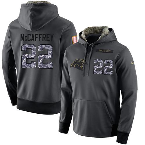 Nice NFL Men's Nike Carolina Panthers #22 Christian McCaffrey Stitched