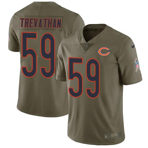 New Nike Bears #99 Lamarr Houston White Men's Stitched NFL Vapor  for cheap