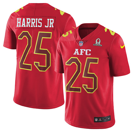 Nike Broncos #25 Chris Harris Jr Red Men's Stitched NFL Limited AFC  free shipping
