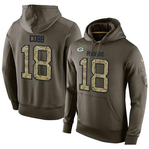 NFL Men's Nike Green Bay Packers #18 Randall Cobb Stitched Green  for sale