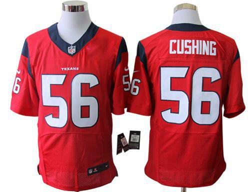 Discount Nike Texans #56 Brian Cushing Red Alternate Men's Embroidered NFL