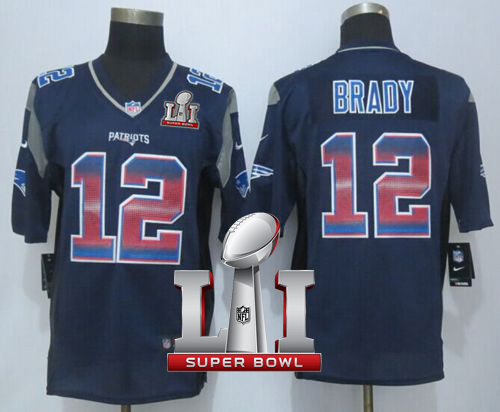 fd587ad93d2 italy nike patriots 12 tom brady navy blue team color super bowl li 51 mens  stitched