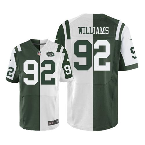 Cheap Nike Jets #27 Dee Milliner Green Men's Stitched NFL Elite Rush Jersey  for cheap