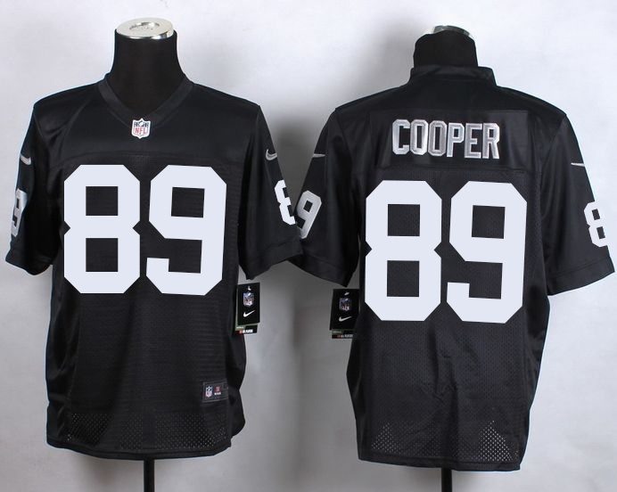 Nike Raiders  89 Amari Cooper Black Team Color Men s Stitched NFL Elite  Jersey 11ed8913a