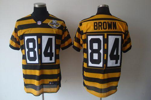 size 40 f3d0c bff9c cheapest antonio brown steelers throwback jersey de5a1 be1fa