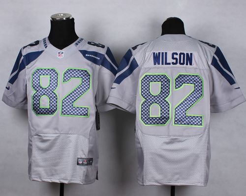 Nice Nike Seahawks #12 Fan Grey Alternate Men's Stitched NFL Vapor