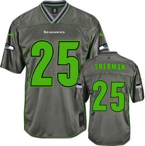 uk nike seahawks 25 richard sherman grey alternate stitched elite gold  jersey c3d87 0946c 11495775e