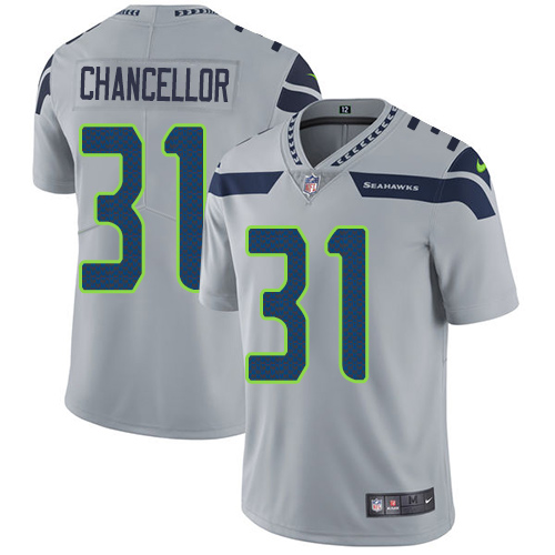 Discount Nike Seahawks #31 Kam Chancellor Green Men's Stitched NFL Limited  for cheap