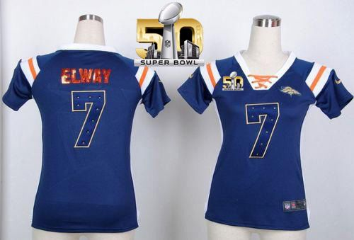 Nike Broncos #88 Demaryius Thomas White Women's NFL Pro Line Super  supplier