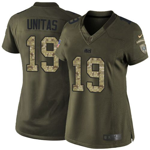 Top Nike Colts #13 T.Y. Hilton Gray Women's Stitched NFL Limited  for sale