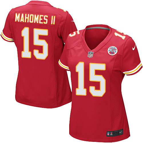 Nike Chiefs #15 Patrick Mahomes II Red Team Color Women's Stitched  free shipping