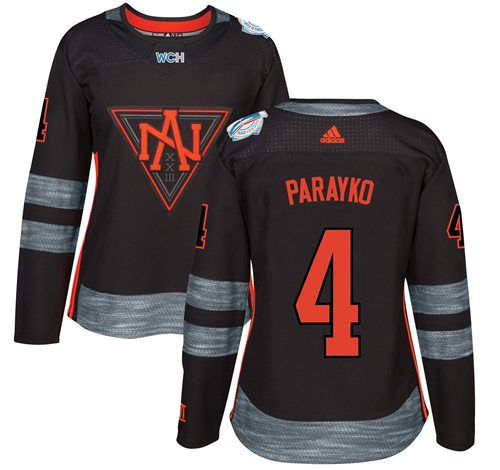 Team North America  4 Colton Parayko Black 2016 World Cup Women s Stitched  NHL Jersey d5107ad51