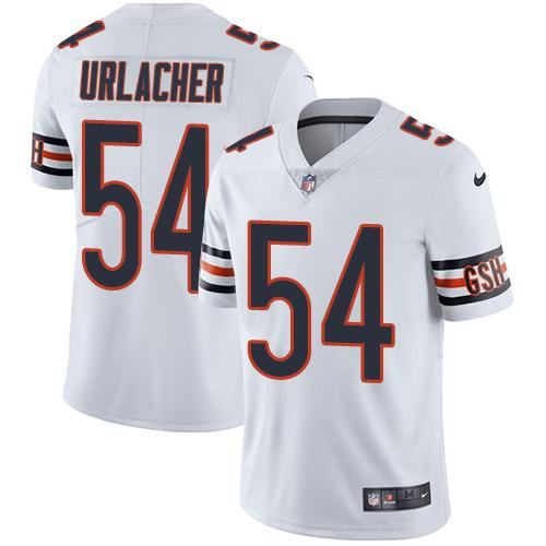 Nike Bears  54 Brian Urlacher White Youth Stitched NFL Vapor Untouchable Limited  Jersey 86d591704