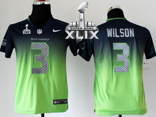 green youth seahawks jersey